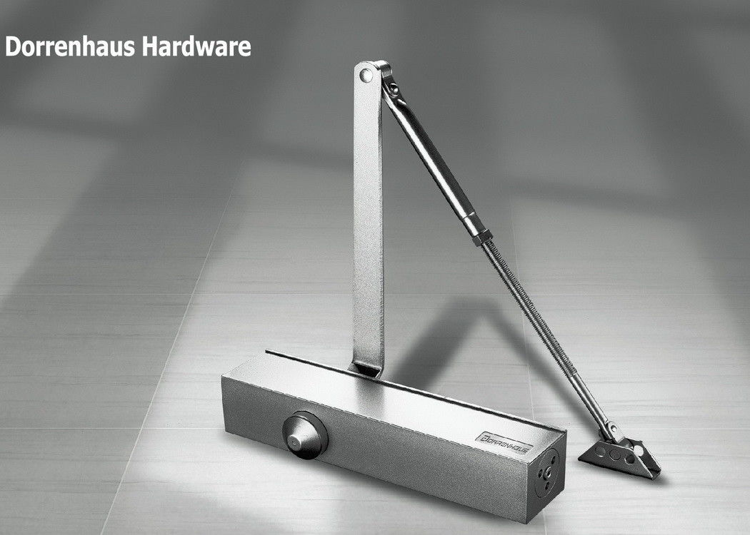 180 Degree Parallel Arm Door Closer Euro Style Non - Handed Installation for 150kg Door